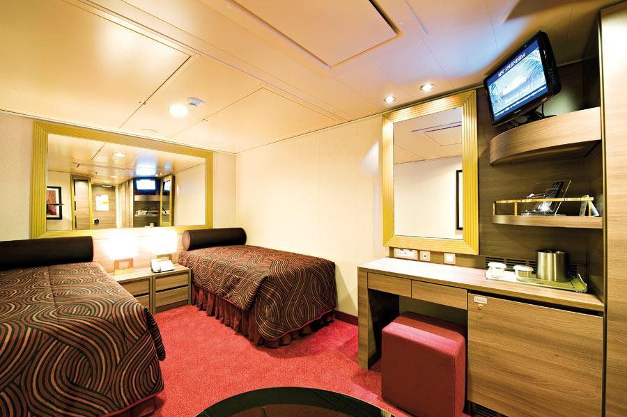 Msc Cruises Msc Splendida Staterooms Official Cruise Photos