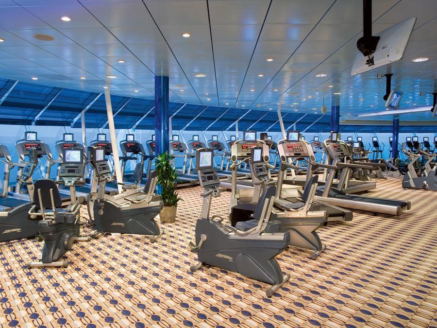 Royal Caribbean Cruises Liberty Of The Seas Spa Fitness Official Cruise Photos