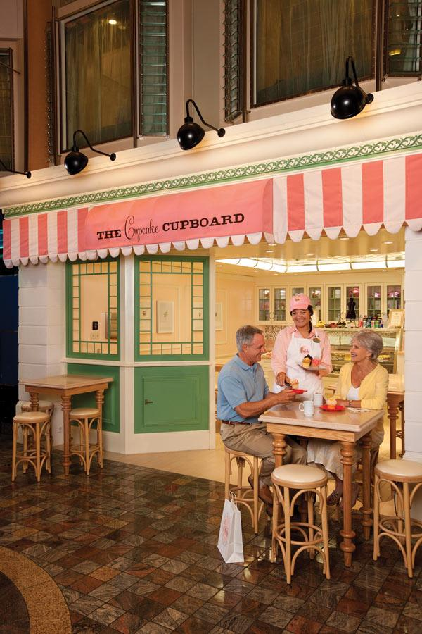 Cupcake Cupboard On The Independence Of The Seasmy Oldest Will Fascinating Explorer Of The Seas Dining Room Review