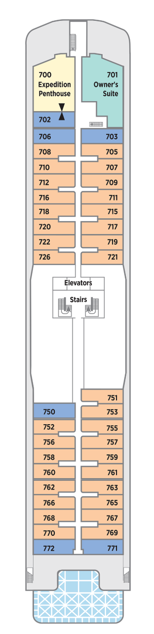 Seabreeze Deck Plan
