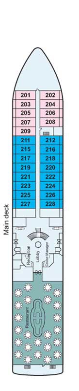 Main Deck Deck Plan