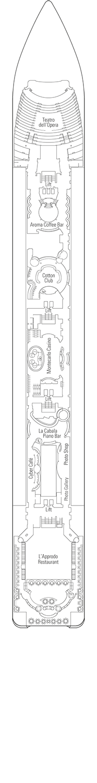 Otello Deck Plan