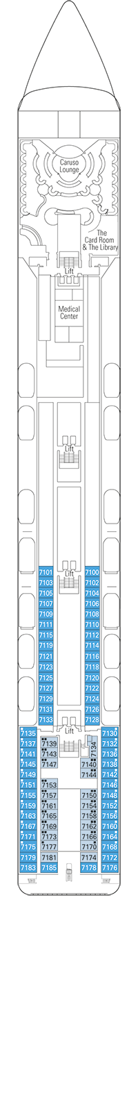 Rigoletto Deck Plan