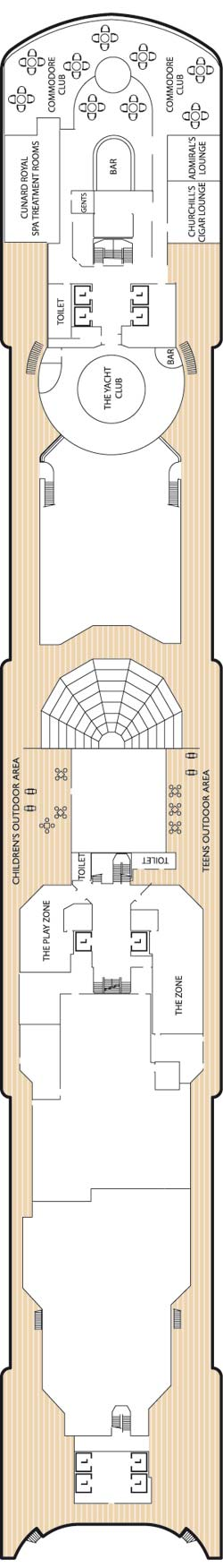 Deck Ten Deck Plan