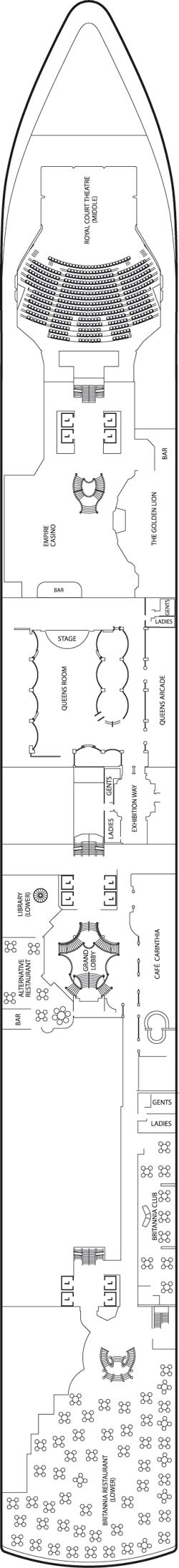 Deck Two Deck Plan