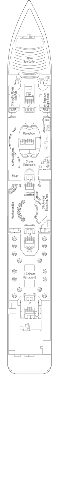 Beethoven Deck Plan