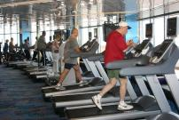 Free fitness on board Holland America Line Zuiderdam