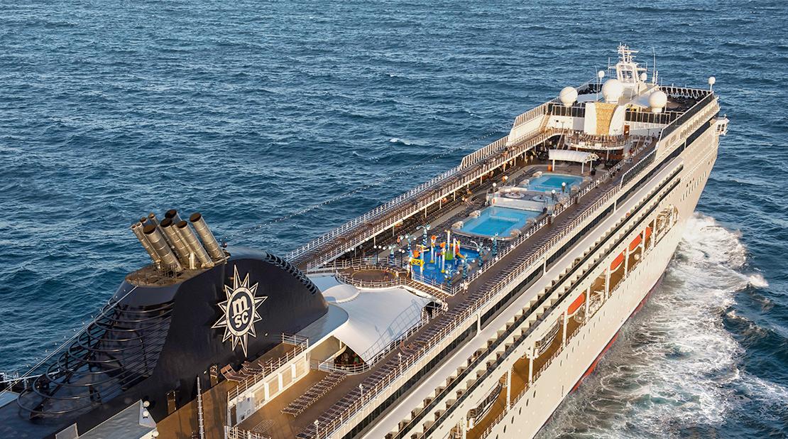MSC Opera at Sea
