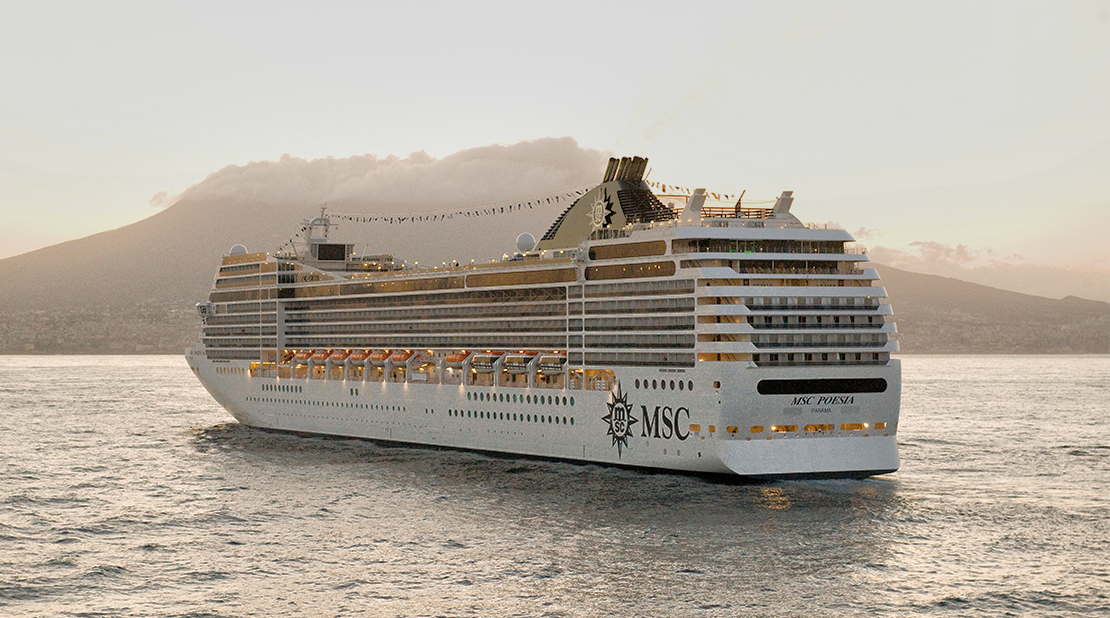 MSC Poesia at Sea