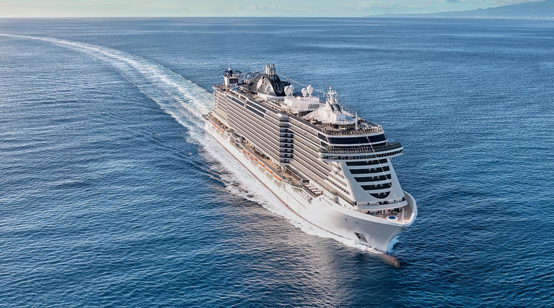 MSC Seaview at Sea