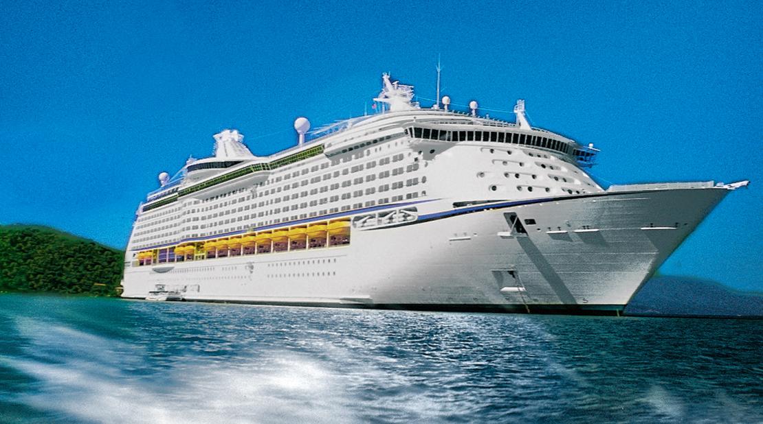 Adventure of the Seas at Sea