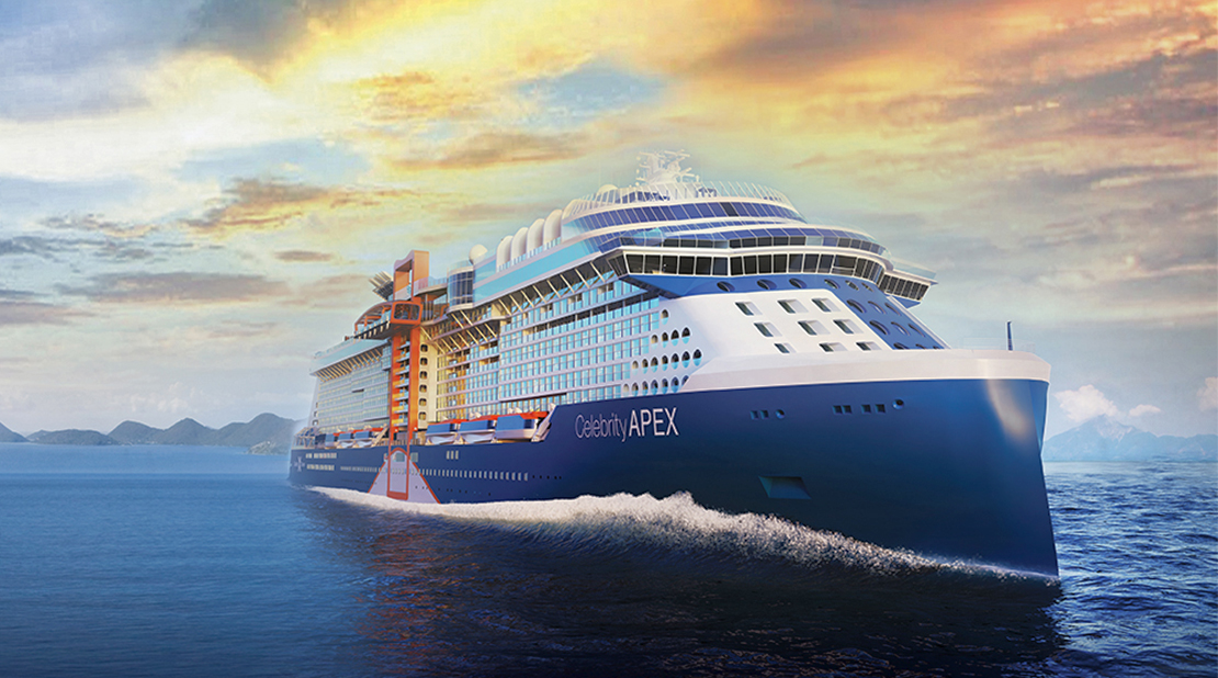 Celebrity Apex at Sea