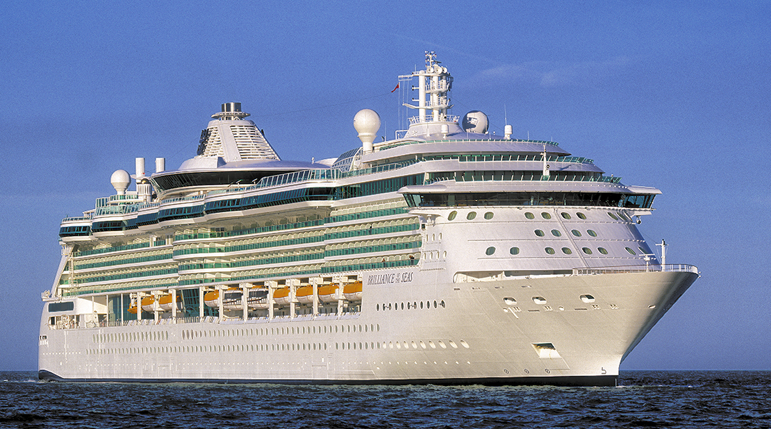 Brilliance of the Seas at Sea