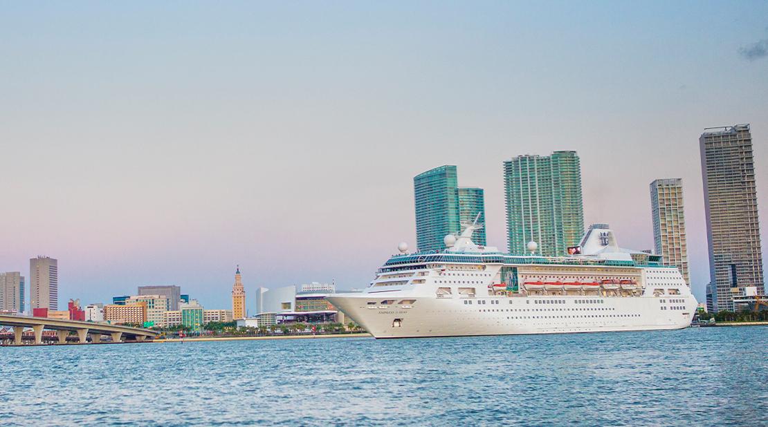 Empress of the Seas at Sea