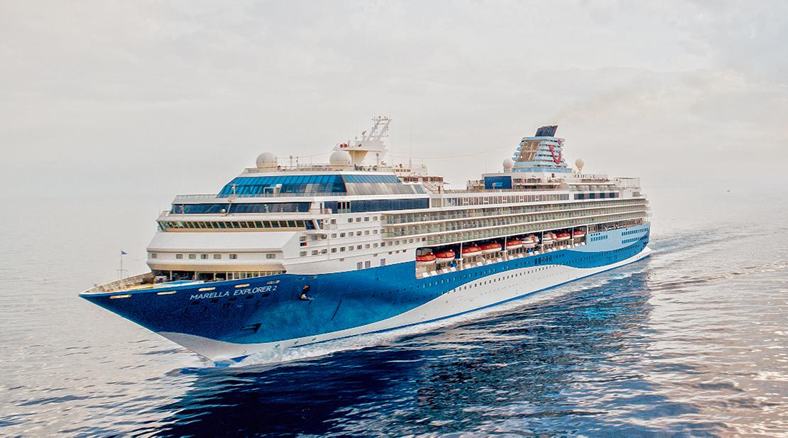 Marella Explorer 2 at Sea