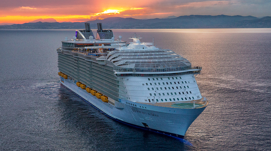 Harmony of the Seas at Sea