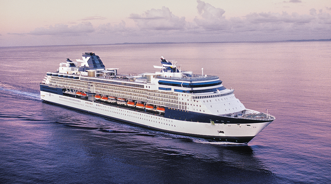 Celebrity Infinity at Sea