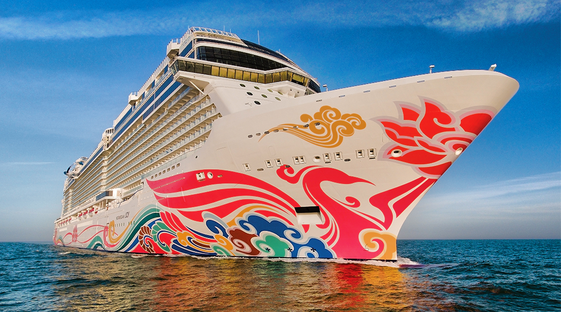 Norwegian Joy at Sea