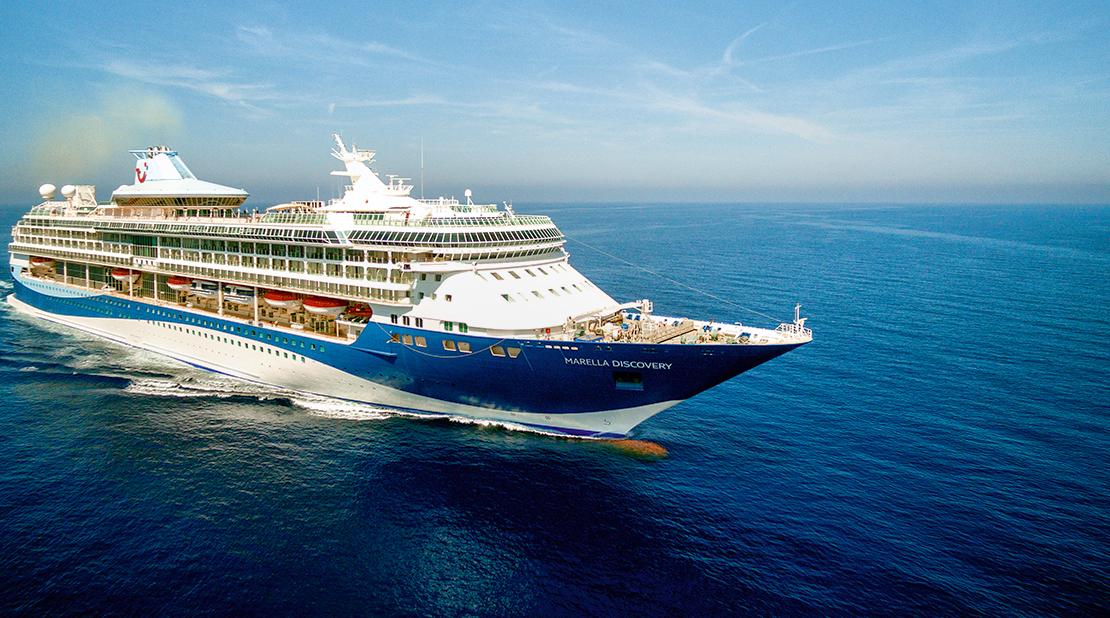 Marella Discovery at Sea