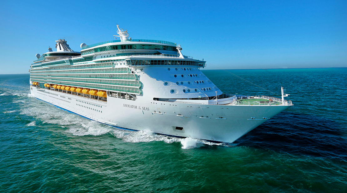 Navigator of the Seas at Sea
