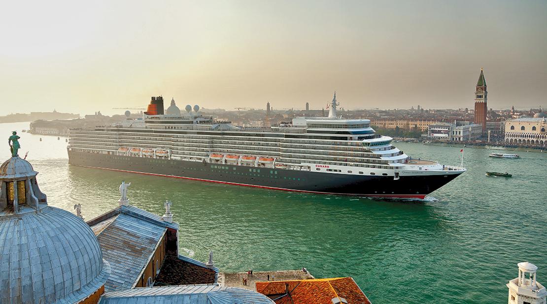 Queen Elizabeth at Sea