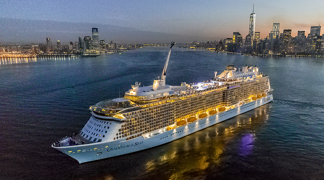 Quantum of the Seas at Sea
