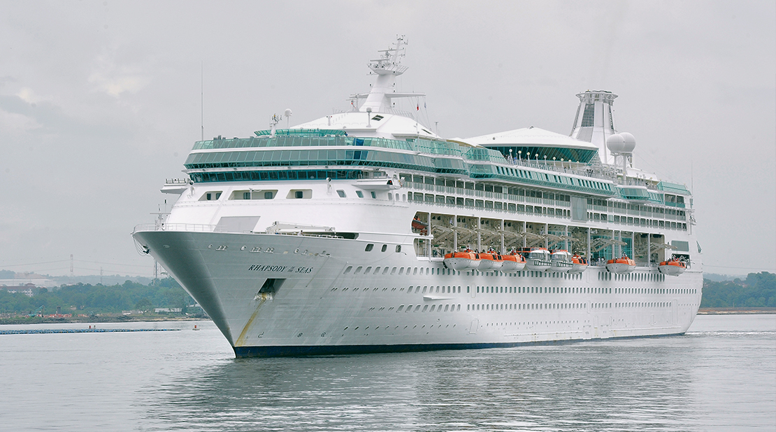 Rhapsody of the Seas at Sea