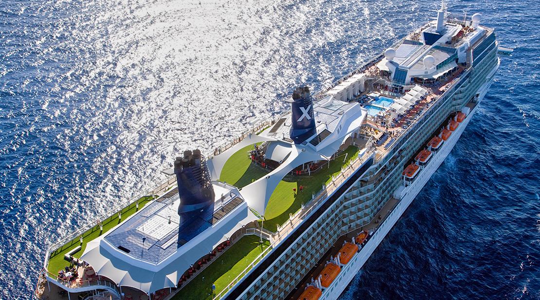 Celebrity Silhouette at Sea