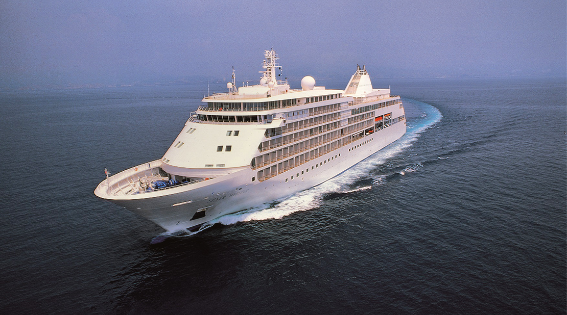 Silver Whisper at Sea