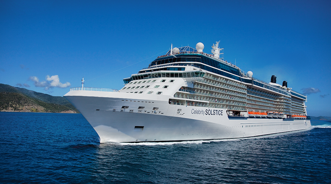 Celebrity Solstice at Sea