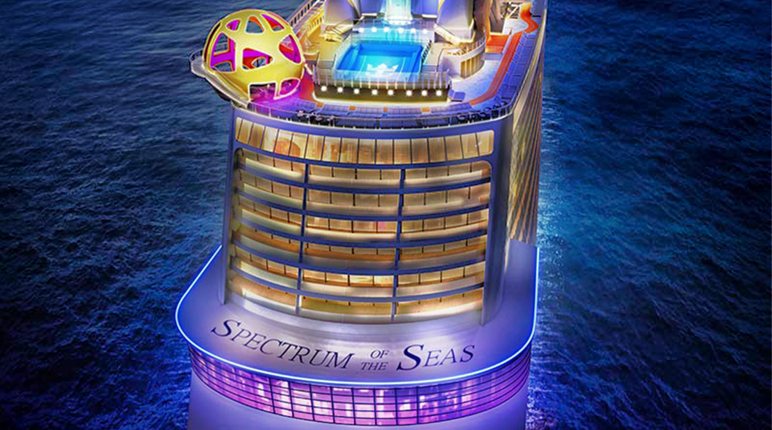 Spectrum of the Seas at Sea