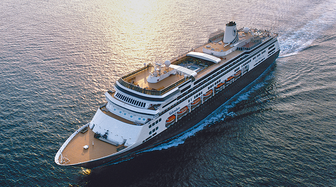 Volendam at Sea