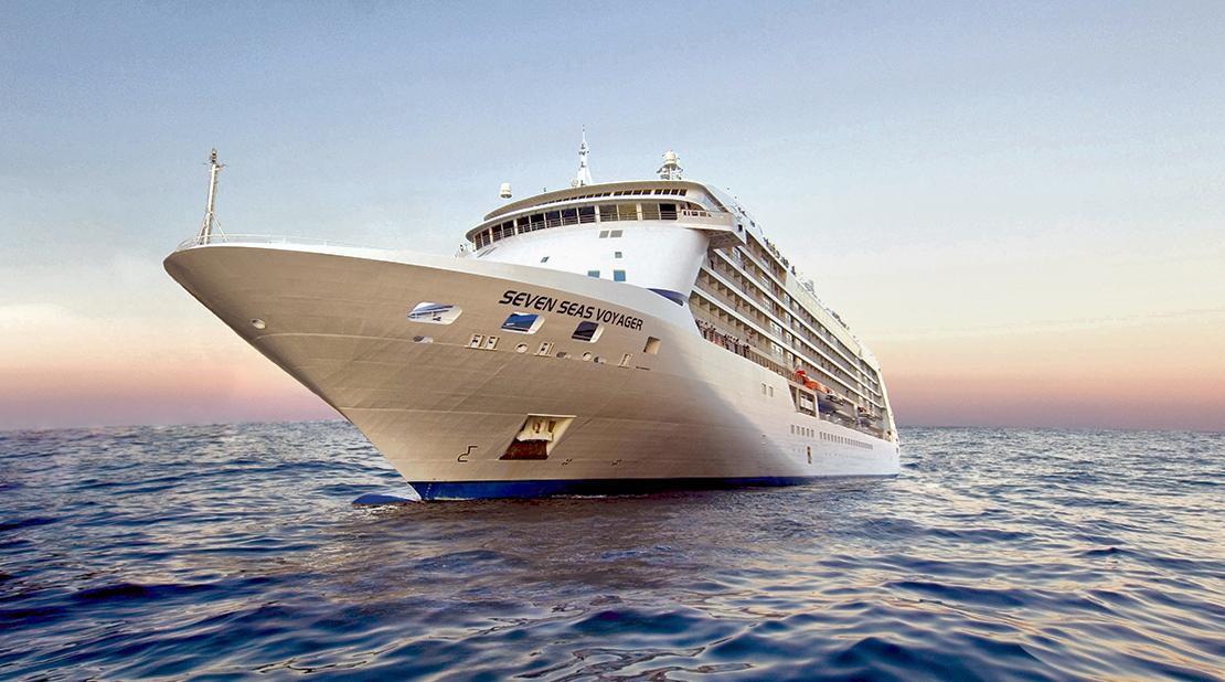 Seven Seas Voyager at Sea