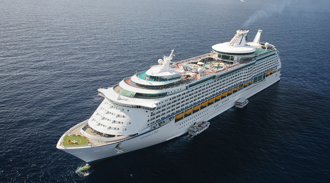 Voyager of the Seas at Sea