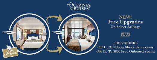 Oceania Cruises 2020 - 2021 | 6* Luxury Cruise Deals