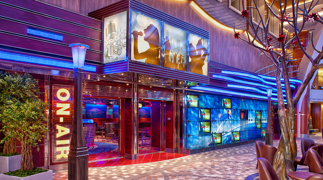 Royal Caribbean Allure of the Seas On Air