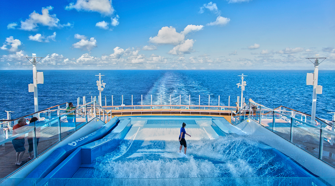 Royal Caribbean Anthem of the Seas Flowrider