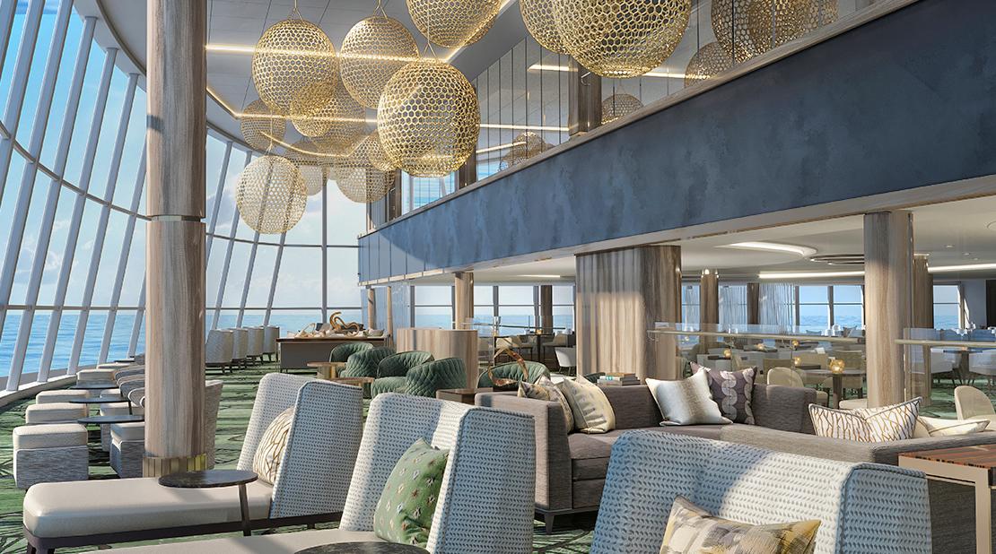 NCL Cruises Norwegian Encore Observation Lounge