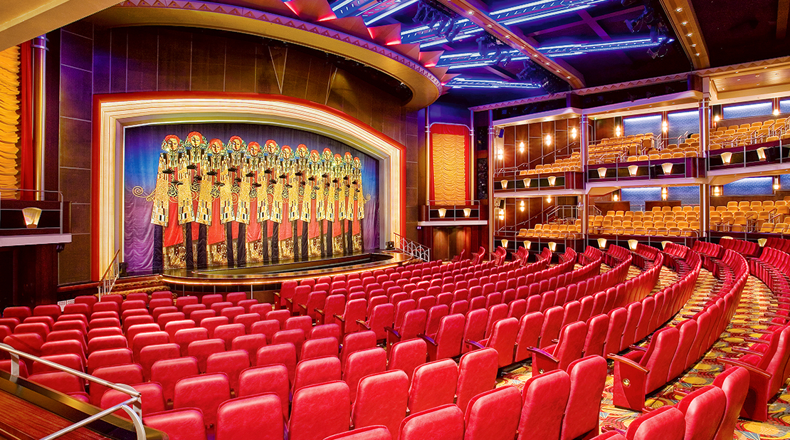 Royal Caribbean Freedom of the Seas Theatre