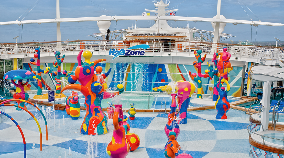 Royal Caribbean Freedom of the Seas h2o Zone