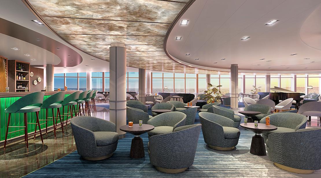 P&O Cruises Iona Cocktail Bar