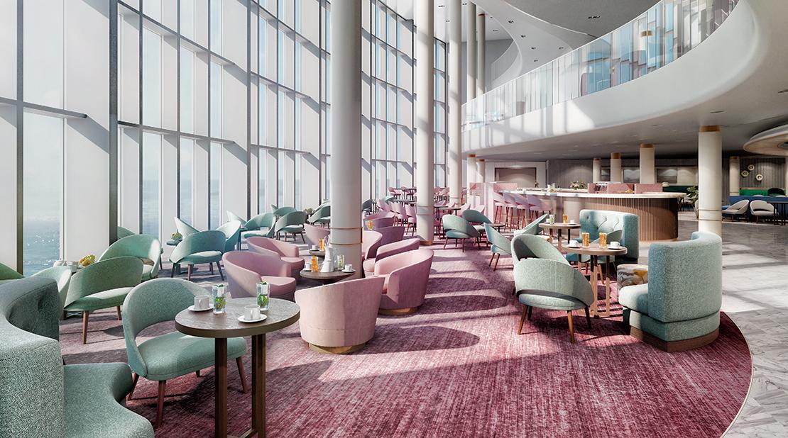 P&O Cruises Iona Coffee Bar