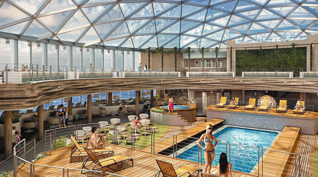 P&O Cruises Iona Dome