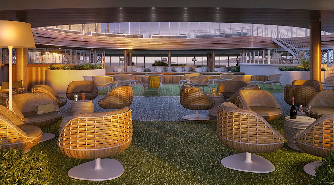P&O Cruises Iona Sunset Deck