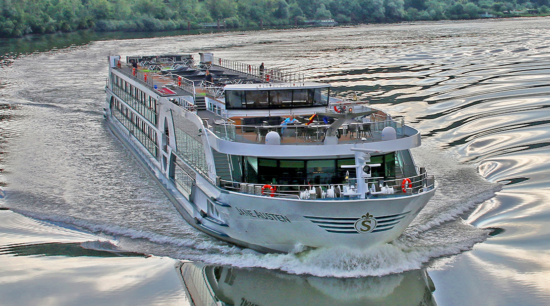MS Jane Austen on the River