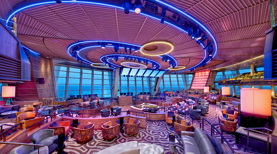 Royal Caribbean Ovation of the Seas Two70 Lounge