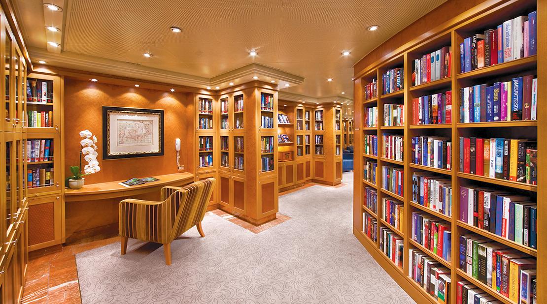 Regent Severn Seas Voyages Severn Seas Voyager Library