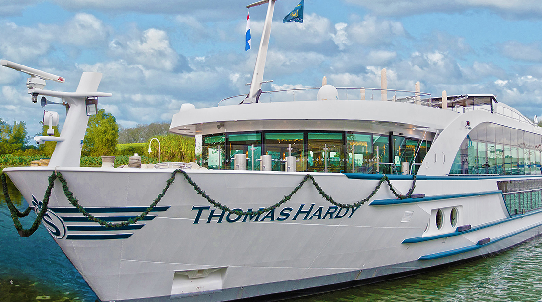 MS Thomas Hardy on the River