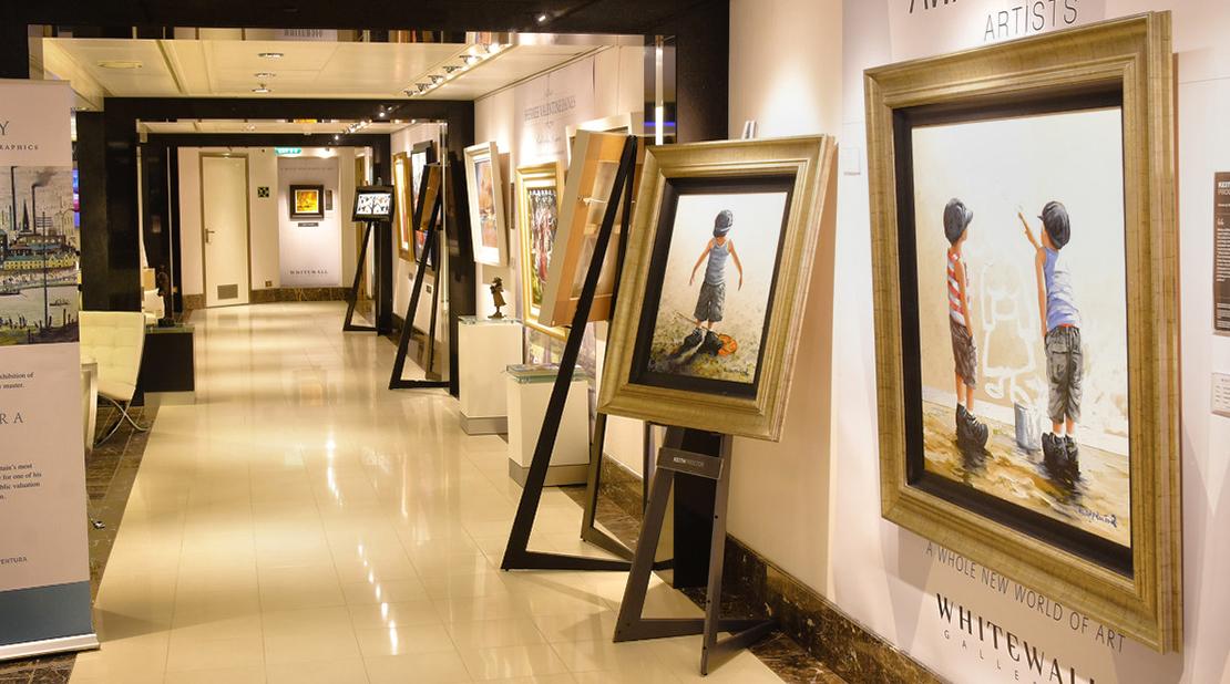 P&O Cruises Ventura Art Gallery