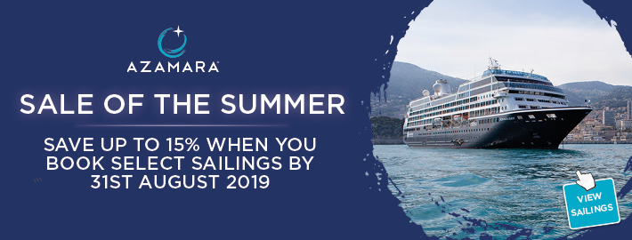 Azamara Cruises 2019 & 2020 | 5* Luxury Cruising